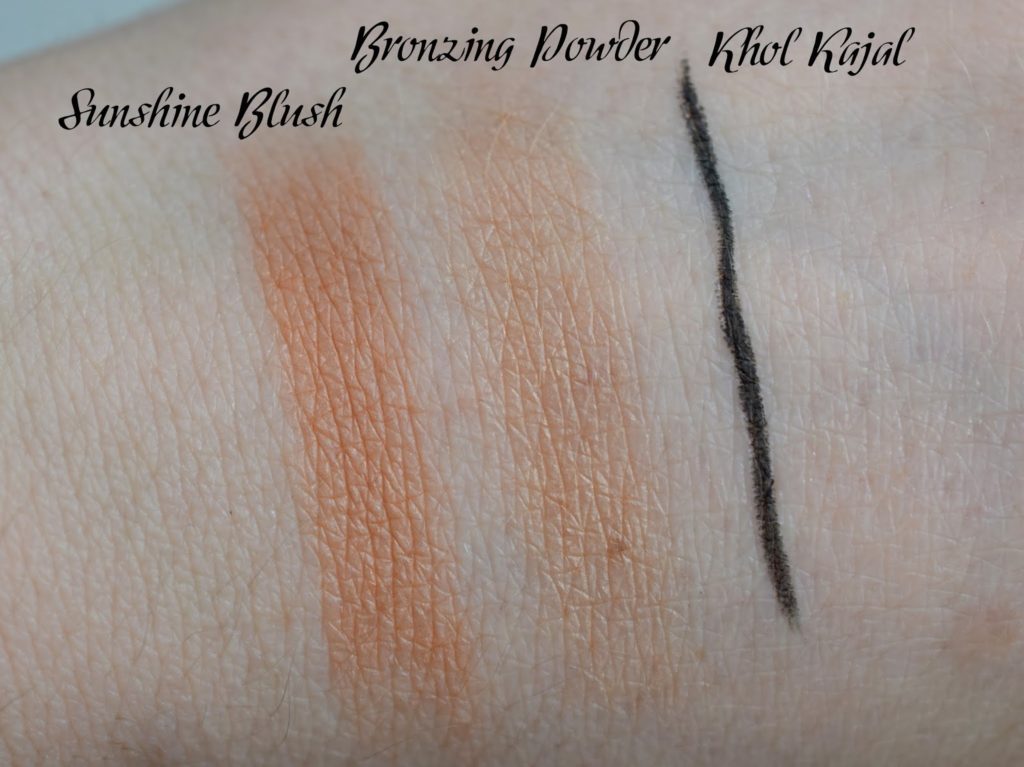 Artdeco Here Comes The Sun Swatches