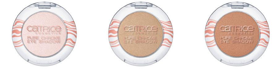 Catrice Lumination LE: Pure Chrome Eyeshadow C01 Radiant Rose, C02 Stargazer, C03 Interstellar