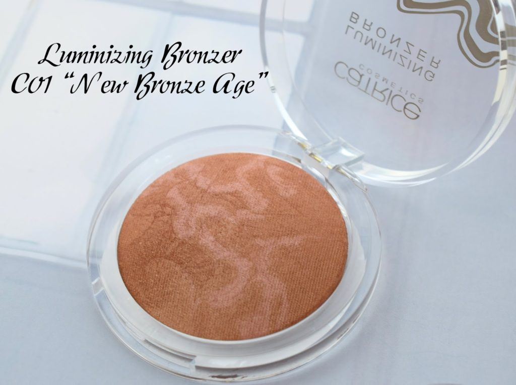"Catrice Lumination LE: Luminzing Bronzer C01 ""New Bronze Age"""