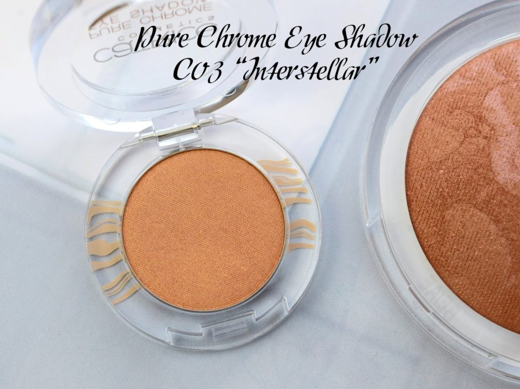 "Catrice Lumination LE: Pure Chrome Eye Shadow C03 ""Interstellar"""