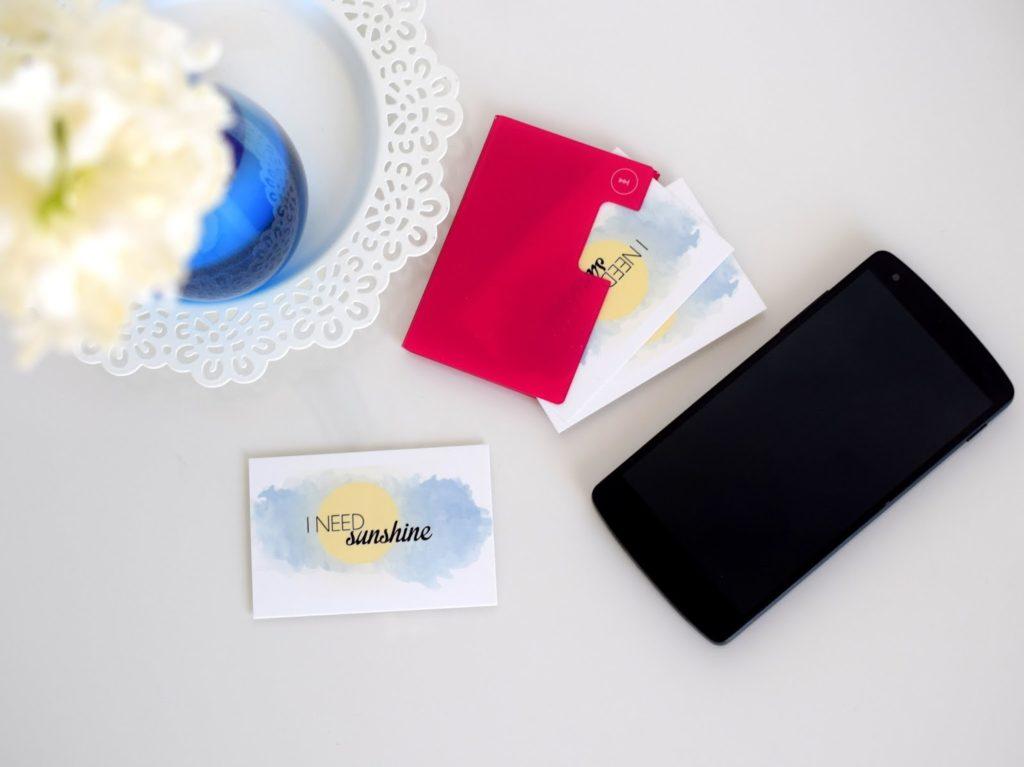 Bloggerevent: Visitenkarten und Handy dürfen auf einem Blogger Event nicht fehlen