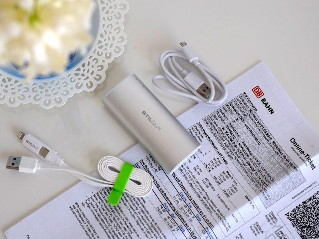Bloggerevent: Powerbank und Fahrkarte