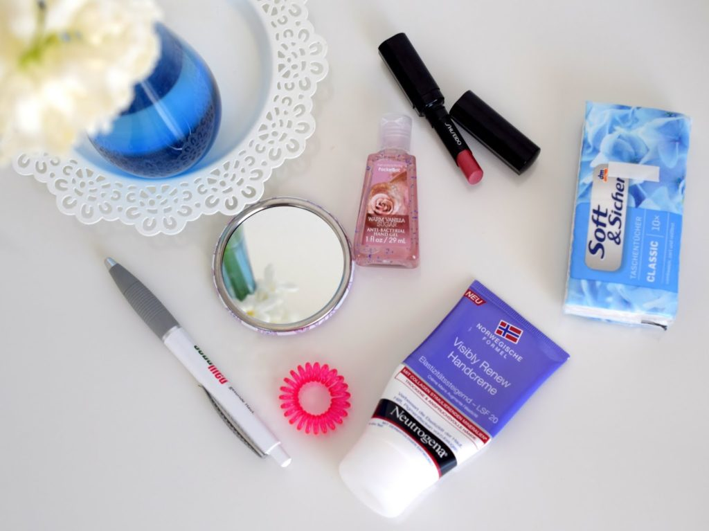 Bloggerevent: Inhalt Handtasche