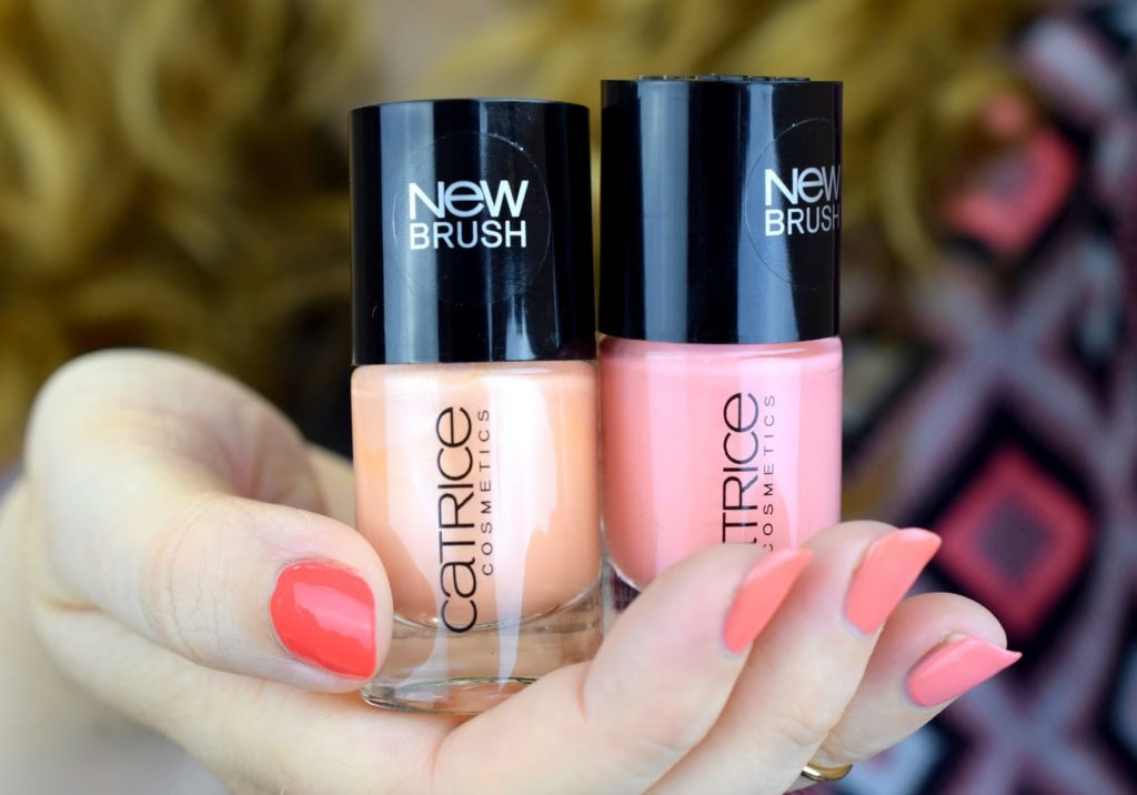 Ombre Summer Nails - Coral & Peach: Catrice gallon of melon + peach club