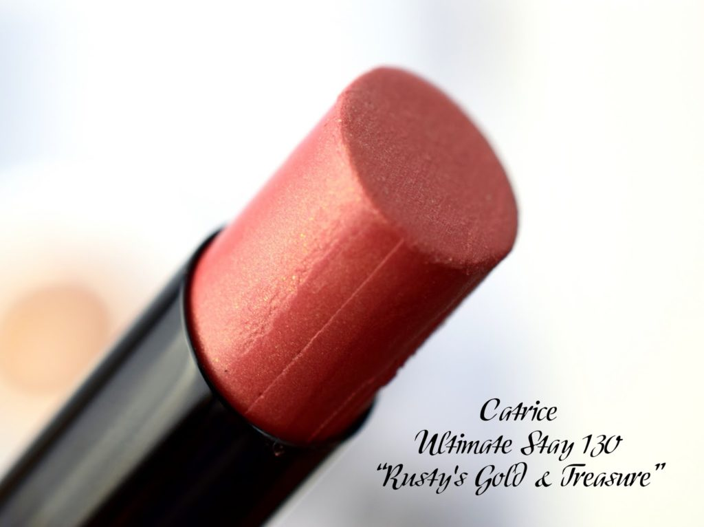 Catrice Ultimate Stay Lipstick 130 Rusty's Gold & Treasure