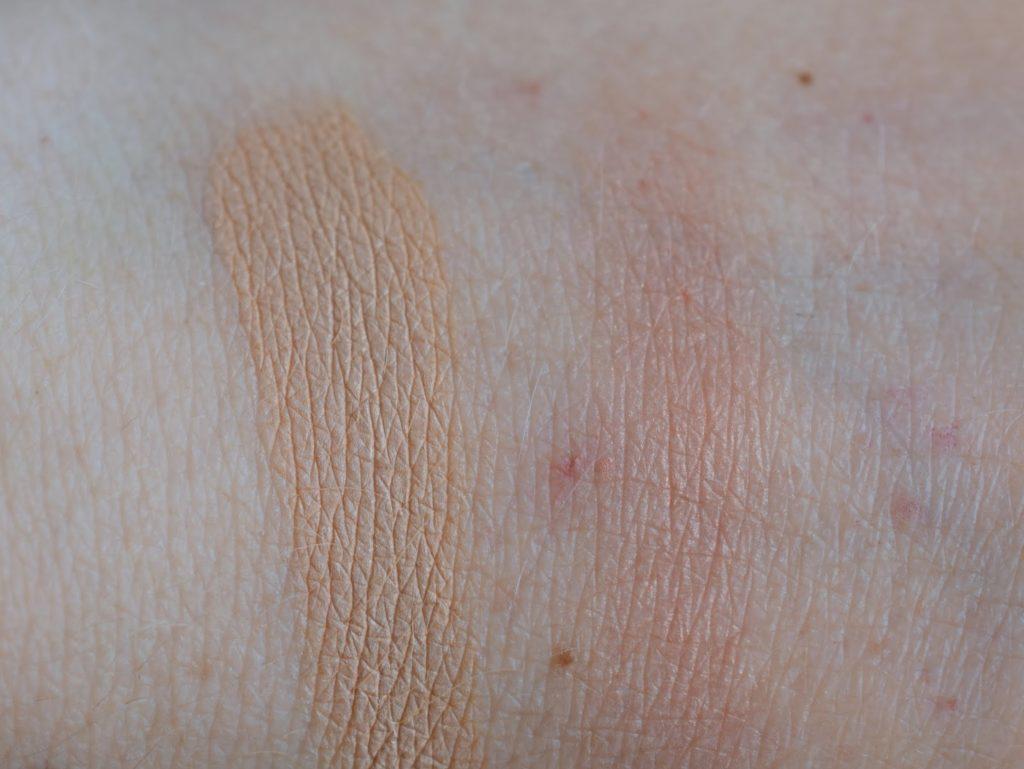 Shiseido Swatch Foundation und Blush