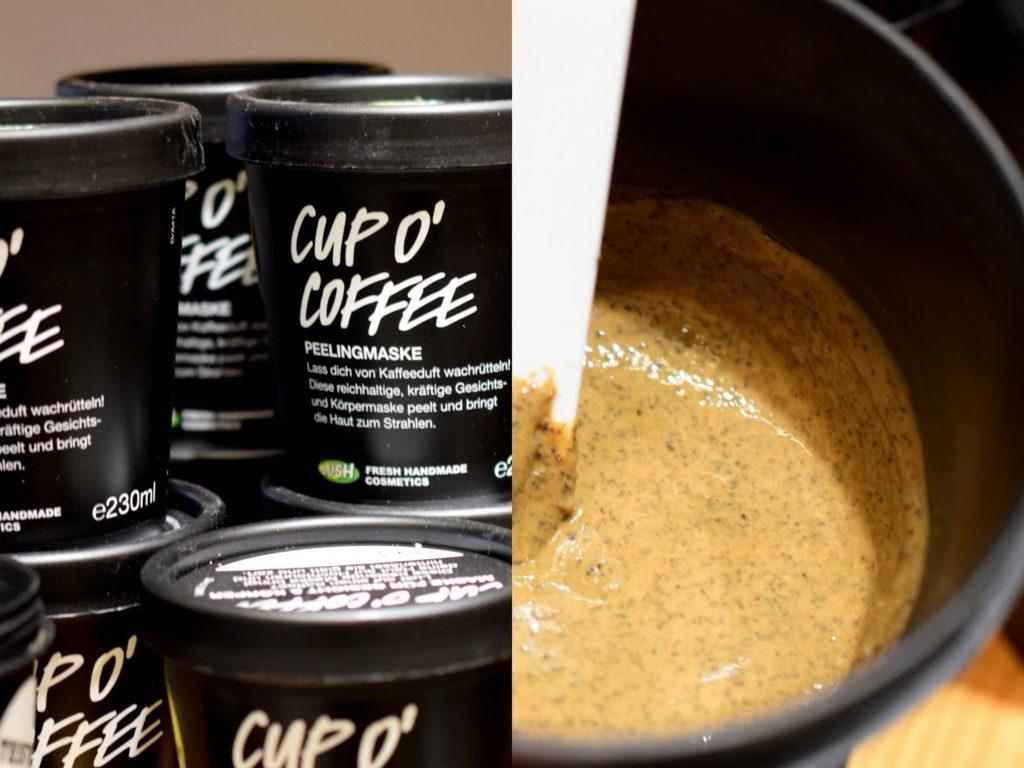 Lush Cup o Coffee Körper und Gesichtsmaske im Test Review Erfahrungen