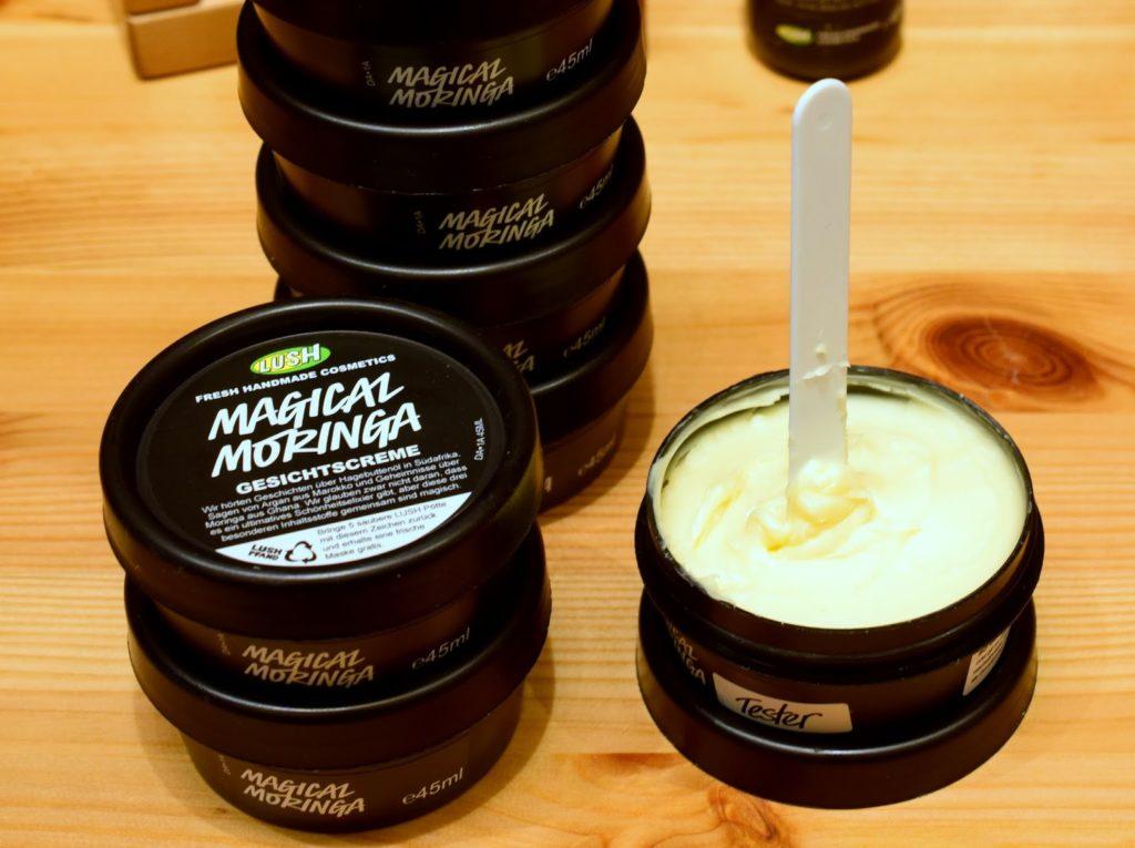Lush Neuheiten Standardsortiment 2015: Lush Magical Moringa Test Review Erfahrungen