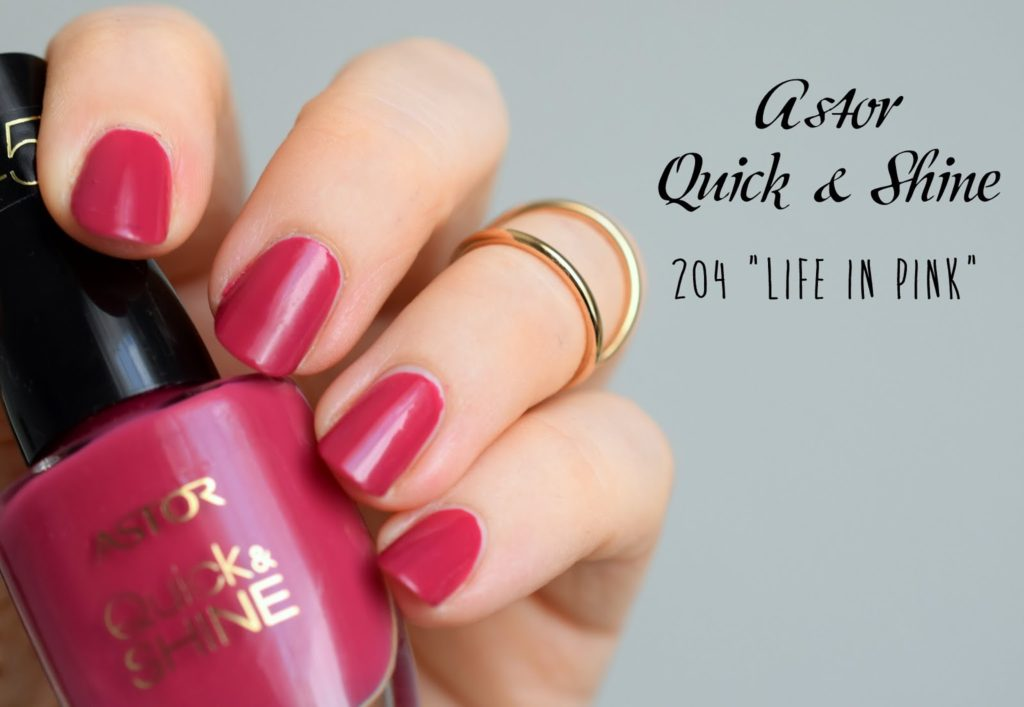 "Astor Quick & Shine 204 ""Life in Pink"""