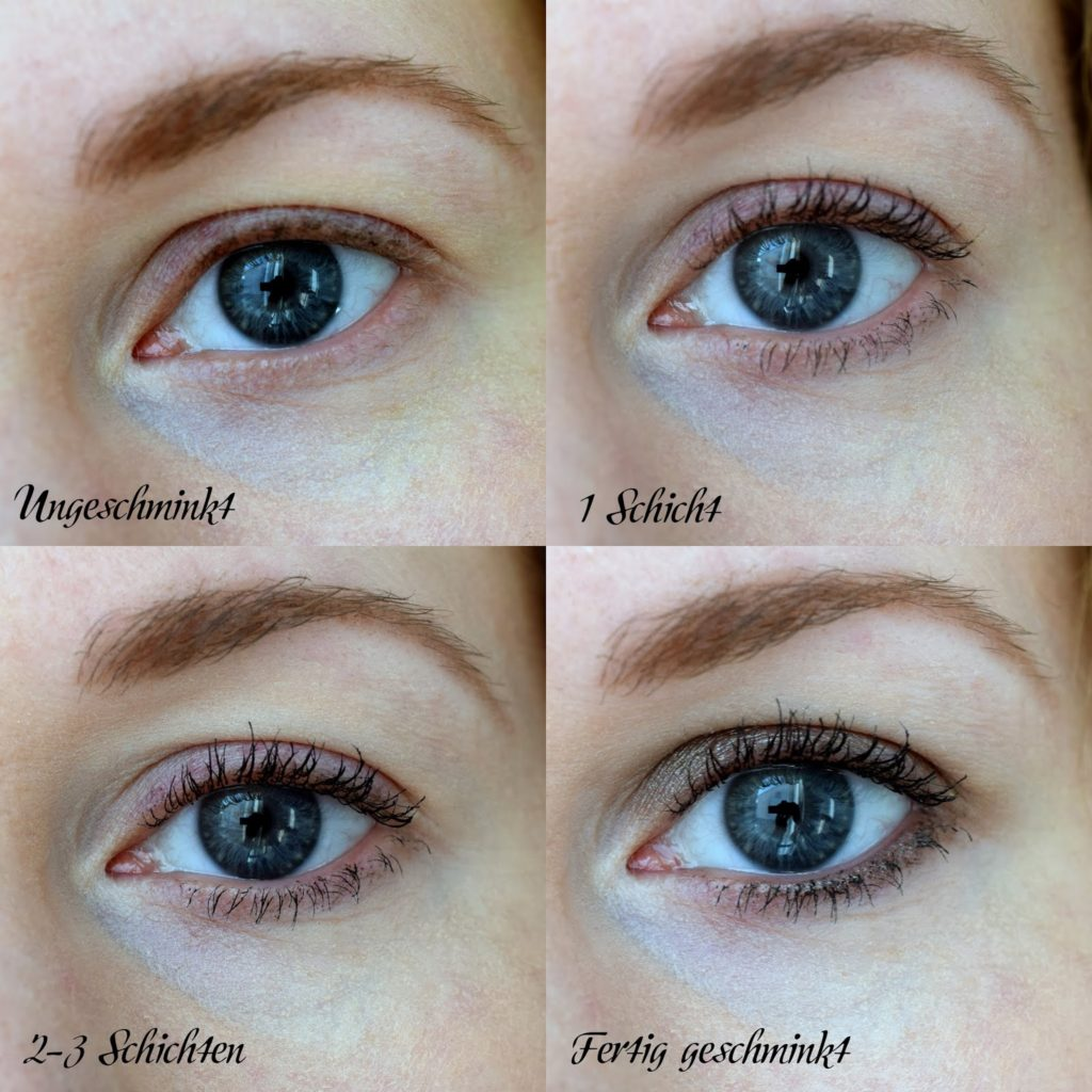 Review Shiseido Full Lash Volume Mascara: Ergebnis