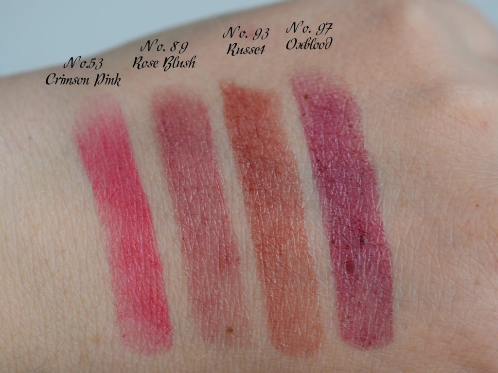 Review & Swatches: Burberry Kisses Lippenstifte - 89 Rose Blush, 53 ...