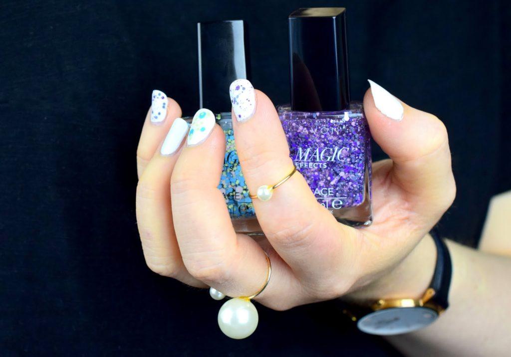 NOTD: Avon Magic Effects Lace Nagellacke