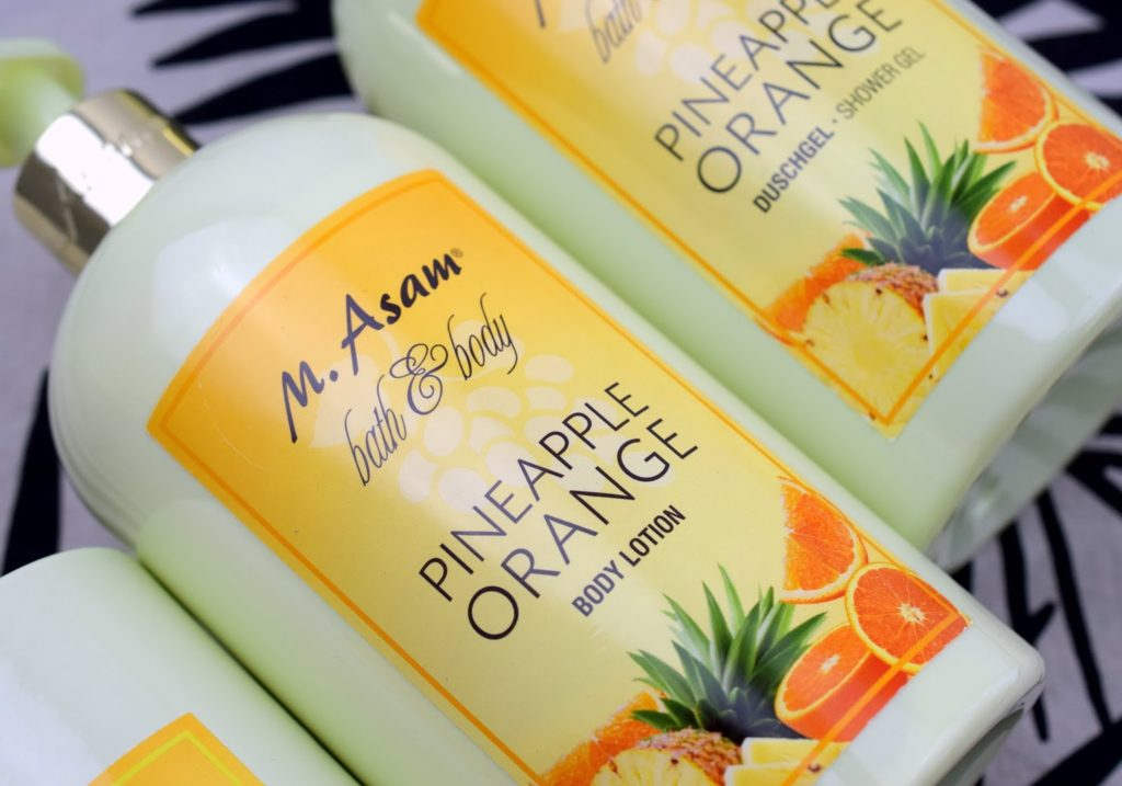 Review: M.Asam Bath & Body Pineapple Orange Body Lotion