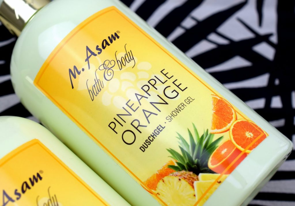 Review: M.Asam Bath & Body Pineapple Orange Duschgel