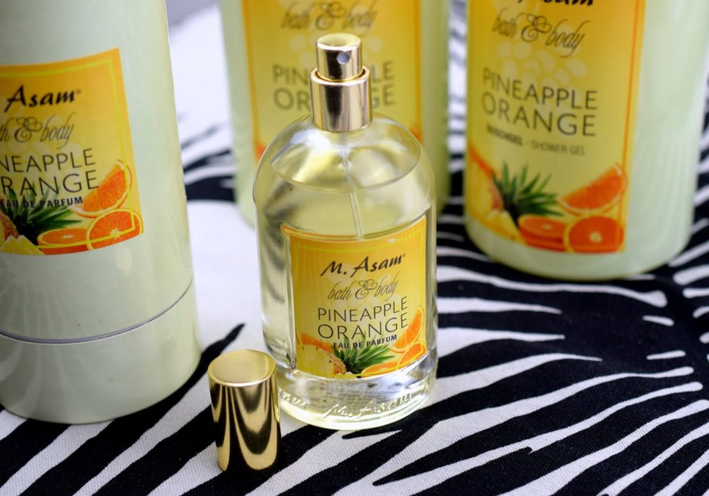 Review: M.Asam Bath & Body Pineapple Orange Eau de Parfum