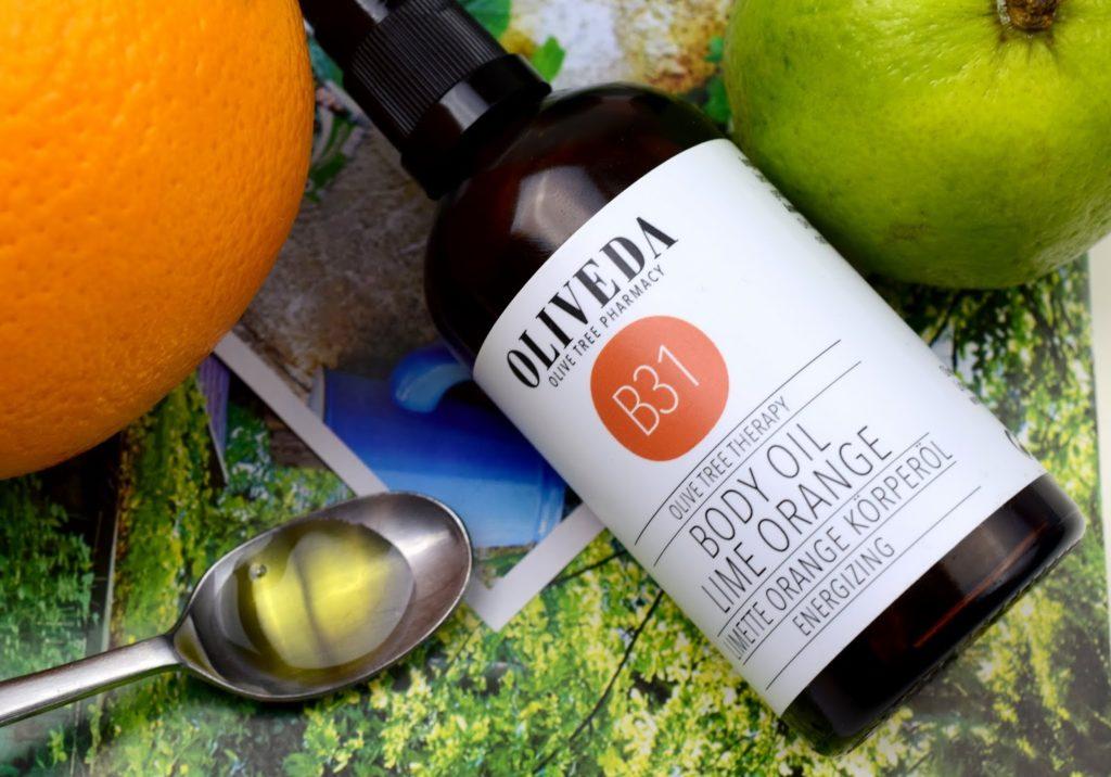 Oliveda Limette Orange Körperöl