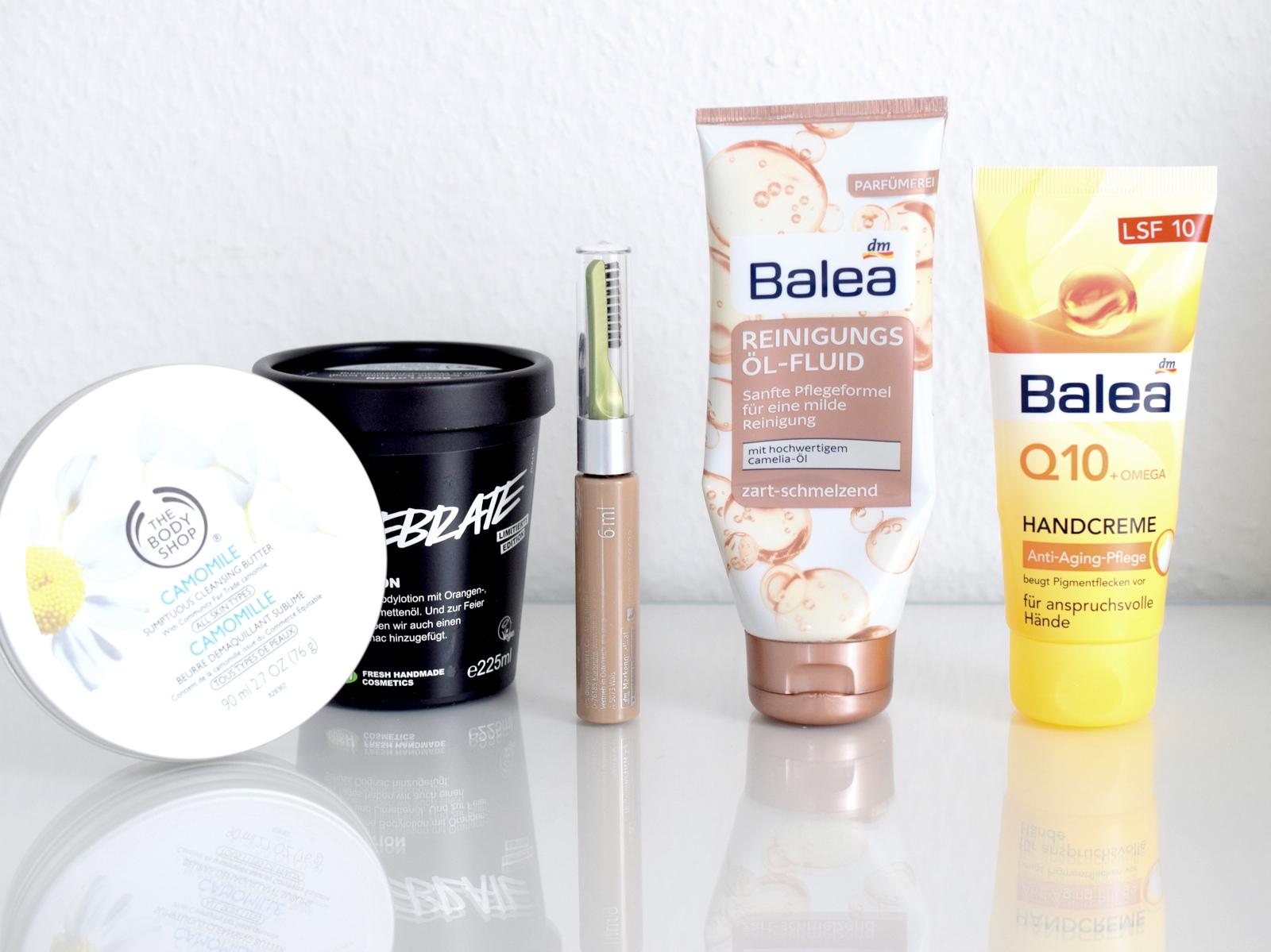 Aufgebraucht Blog Posts über aufgebrauchte Kosmetik Produkte langweilig oder interessant? Leser Umfrage bei der Montagsfrage auf Beautyblog und Mamablog I need sunshine.