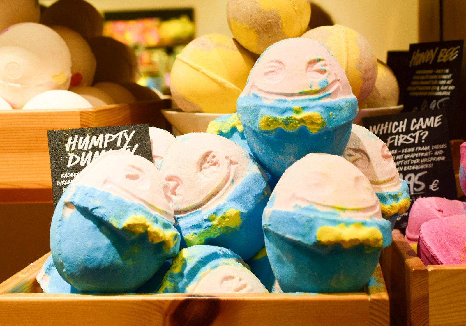Lush Ostern 2016 Humpty Dumpty Badekugel