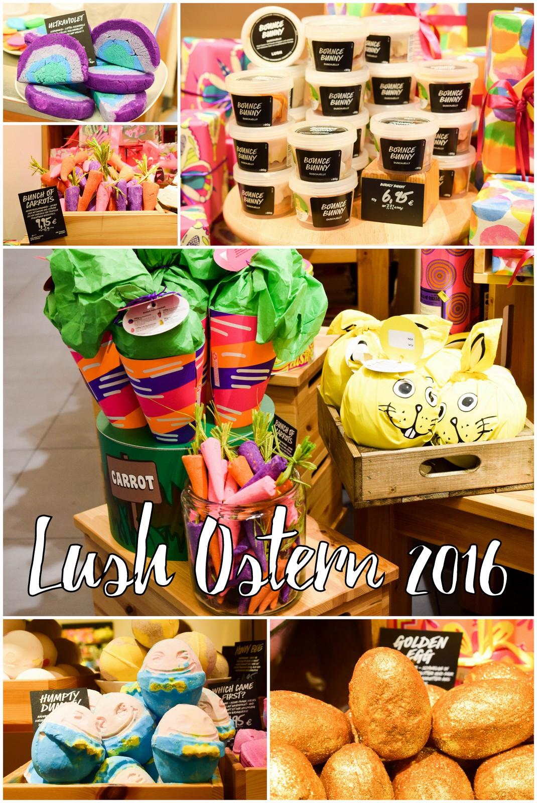 Lush Ostern 2016 alle Produkte auf einem Blick inklusive meine Favoriten