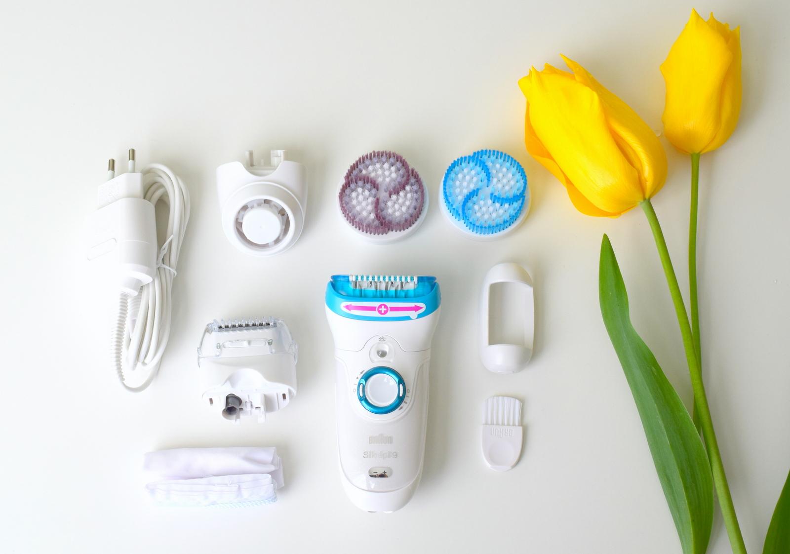 Zubehör Braun Silk Epil Epilierer SkinSpa Edition mit Peeling-Bürstenaufsatz