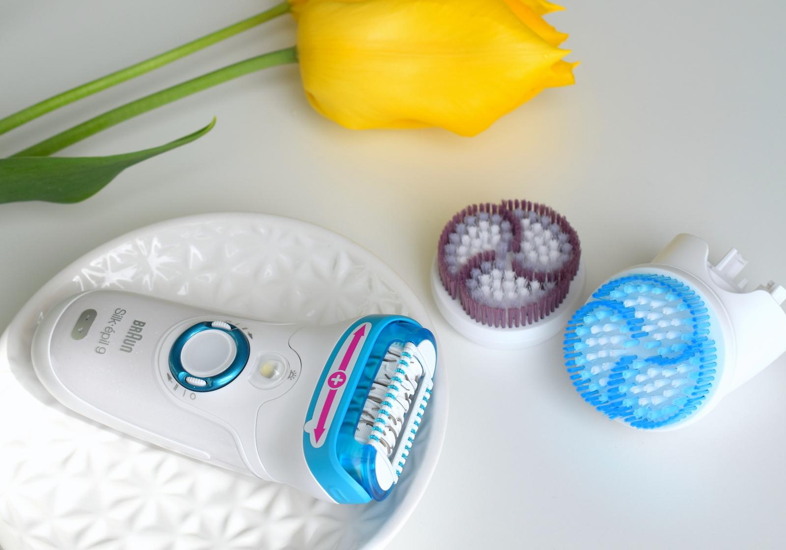 Braun Silk Epil 9 Skin Spa Peeling-Bürstenaufsatz für sensible Haut und intensives Peeling