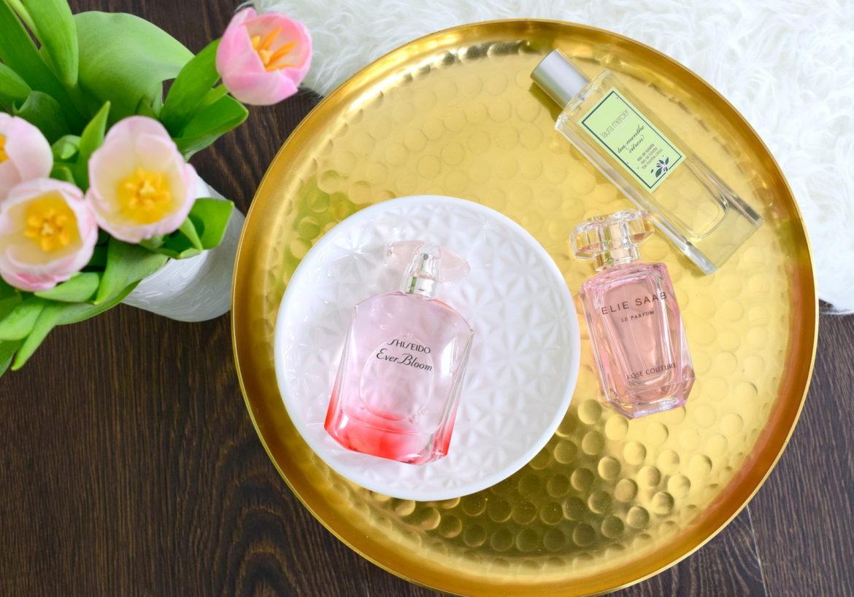 Meine Top 3 Frühlingsdüfte 2016. Leichte und blumige Parfums für den Frühling von Shiseido und Elie Saab. Spritziges Zitrus Parfum von Laura Mercier