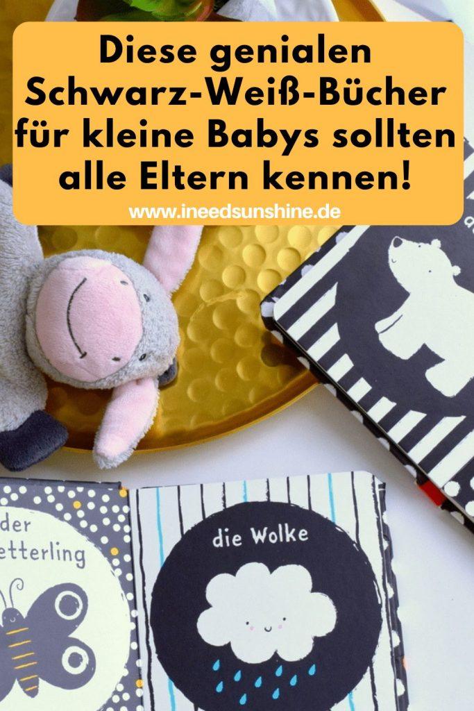 Baby Bücher für Neugeborene Schwarz-Weiß-Buch Tipps