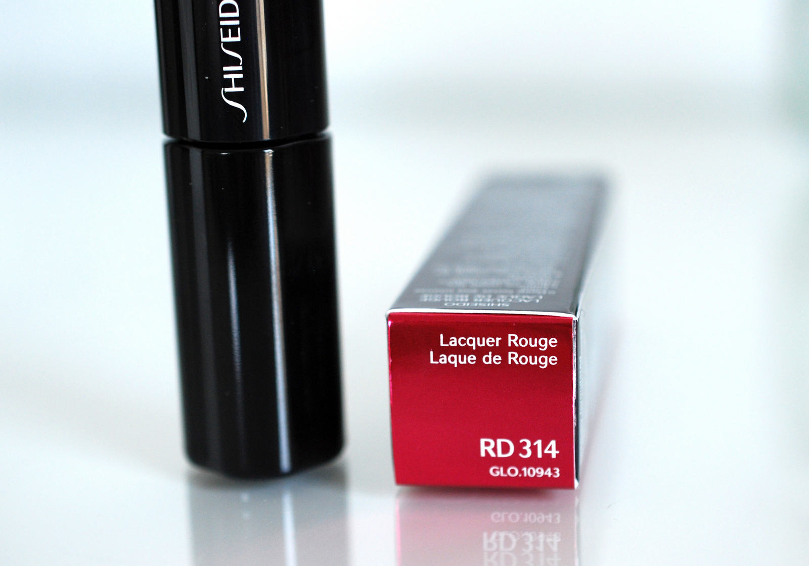 Testbericht zum Shiseido Lacquer Rouge RD314 Deep Coral