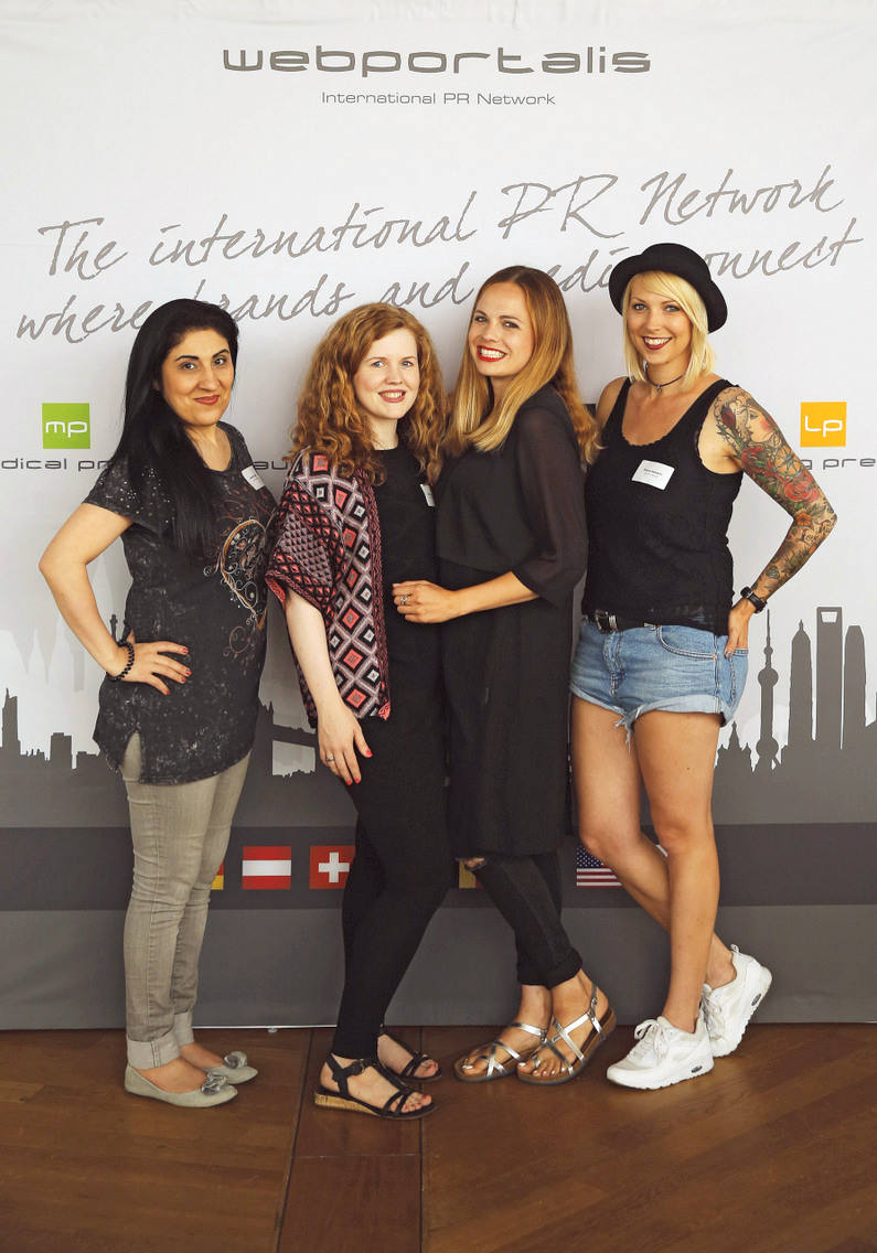 Beautybloggerinnen beim Beautypress Blogger Event im Juli 2016 in Köln im Köln Sky