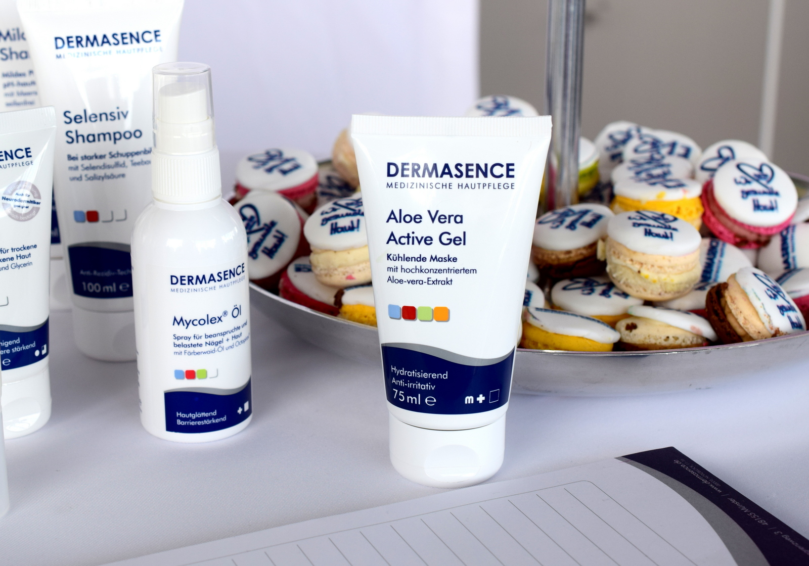 Apotheken Kosmetik Dermasence beim Beautypress Blogger Event im Juli 2016 in Köln im Köln Sky