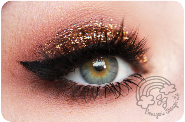 Glitter Makeup von Goldiegrace