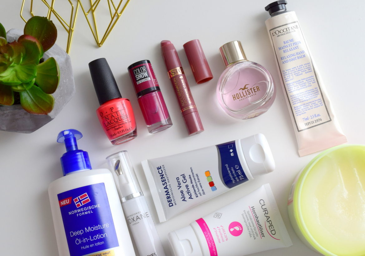 Beauty Blogger Monatsfavoriten und Beauty Favoriten aus dem Juli 2016 mit Dermasence, Neutrogena und Astor.