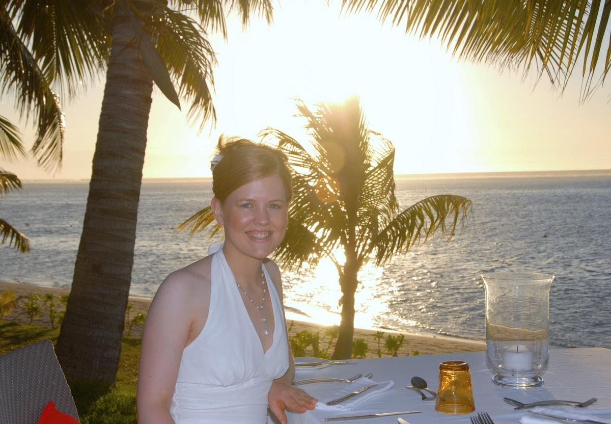 Hochzeit auf Mauritius Candle Light Dinner am Strand