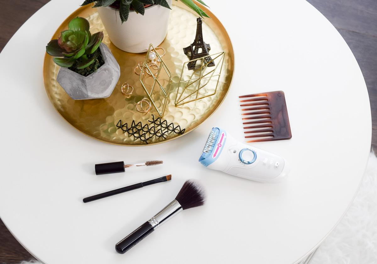 Beauty Tipps für gestresste Mütter und frischgebackene Mamas schnelle Frisuren und Make-up-Tricks nach der Geburt mit Baby