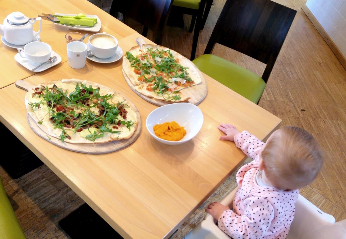 Essen gehen mit Kindern in Bremen im kinderfreundlichen Restaurant Bloom in Bremen