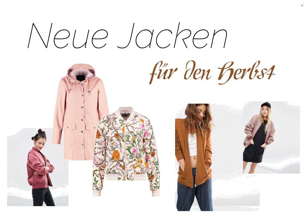 Neue Jacken für den Herbst Bomber Jacke und Mantel Fashionblog Modeblog