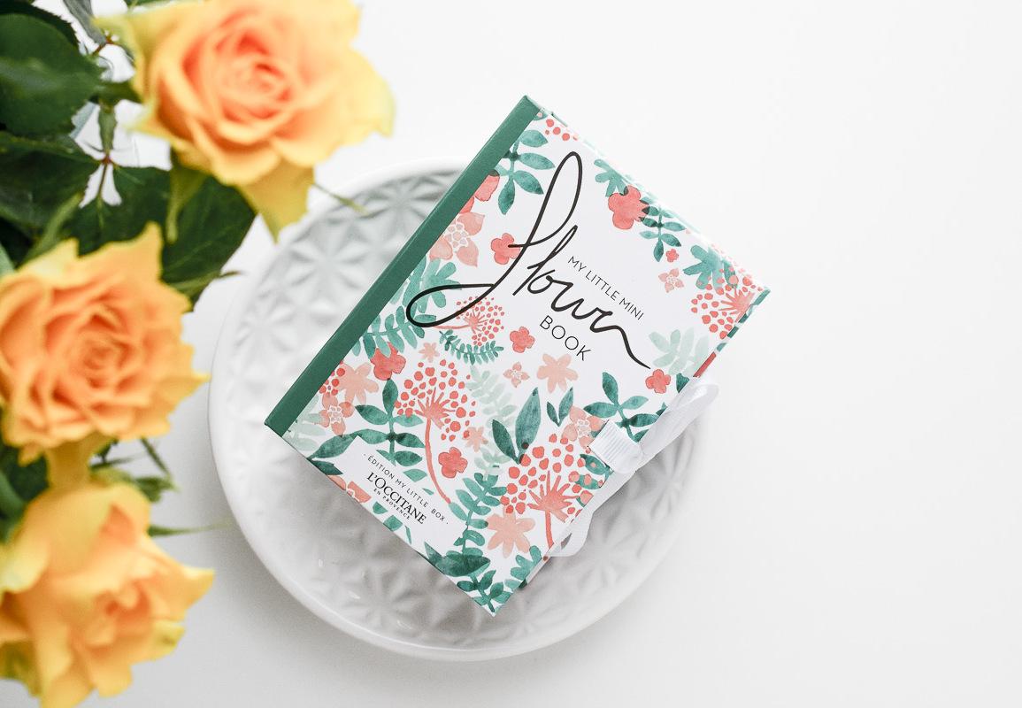 My Little Mini Flower Book von L'Occitane gratis-Aktion zu jedem Einkauf dazu