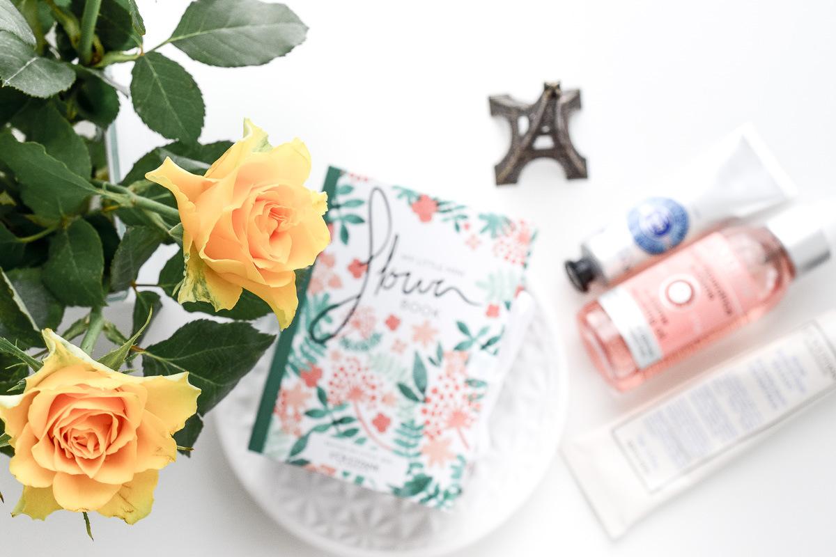 L'Occitane My Little Mini Flower Book Gratis-Aktion zu jedem Einkauf ein Geschenk