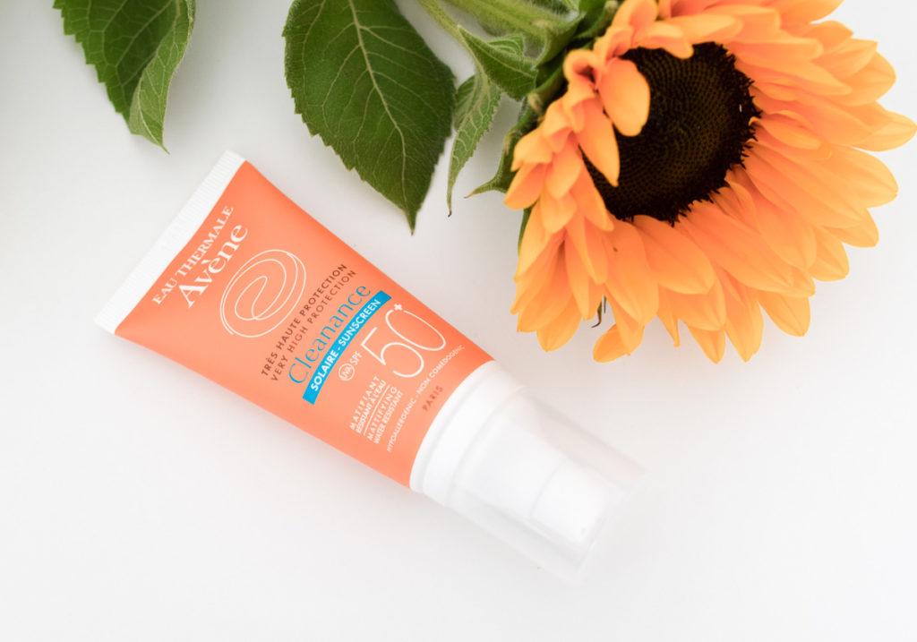 Sonnencreme für das Gesicht LSF 50 Avene Cleanance mattierende Sonnecreme Lichtschutzfaktor 50