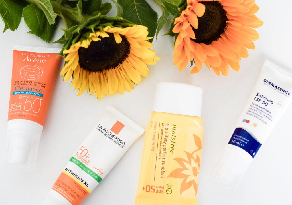 Sonnencreme Gesicht LSF 50 Erfahrung und Test Anti-Aging Tipp gegen vorzeitige Hautalterung