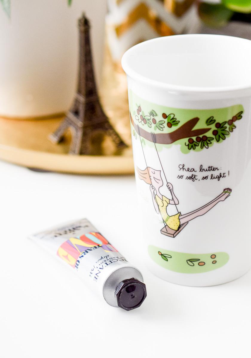 L'Occitane Cocooning Duo Karité kostenlose Handcreme und Becher zum Einkauf bei L'Occitane im Shop und Onlineshop