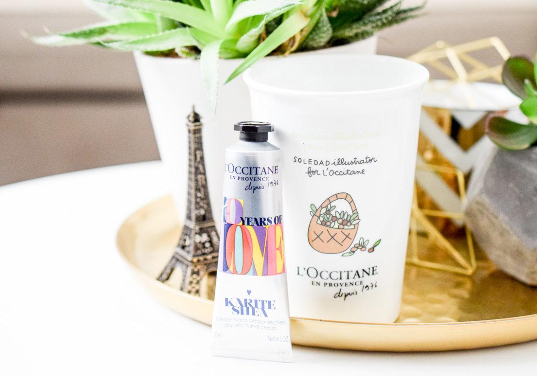 Gewinnspiel Beautyblog L'Occitane Gratis-Aktion Handcreme und Becher Cocooning Duo beim Einkauf kostenlos dazu