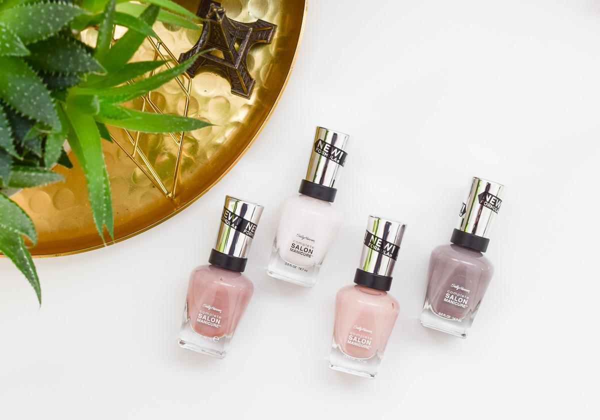 Sally Hansen Complete Salon Manicure Nagellacke neue verbesserte Formulierung mit Keratin Komplex für stärkere Nägel #strongwomenstrongnails