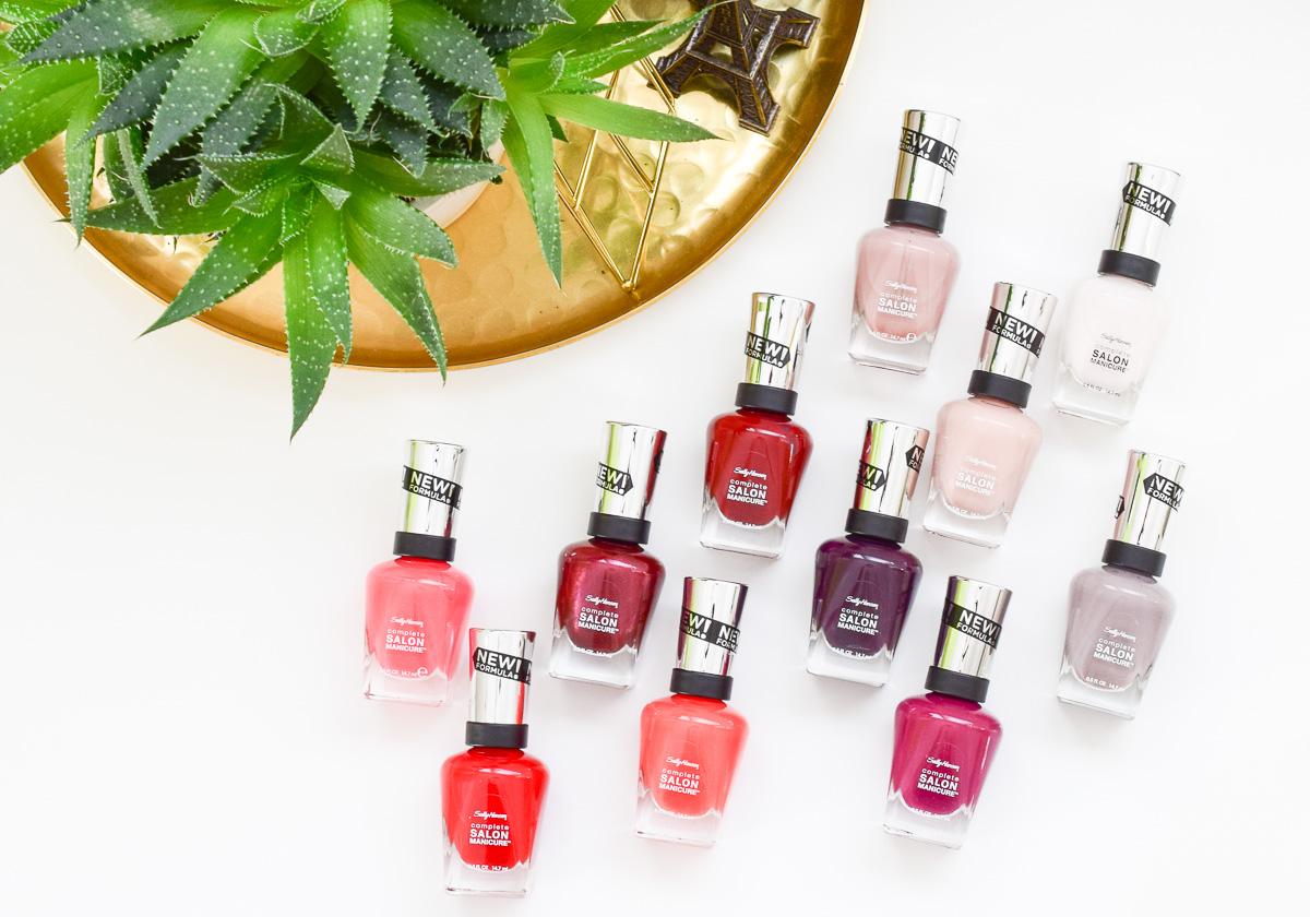 Sally Hansen Complete Salon Manicure Nagellacke Strong Women Strong Nails Kampagne für starke Frauen #strongwomenstrongnails