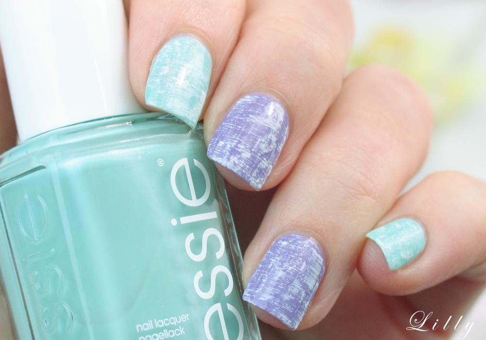 Dry Brush Technik mit Essie Nagellacken auf I need sunshine Beautyblog mit Tutorial und Anleitung von Nagelbloggerin Lackelfe