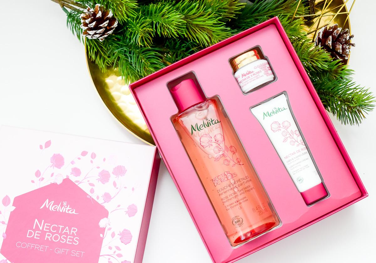 Melvita Weihnachts-Set Nectar de Roses: Naturkosmetik zu Weihnachten