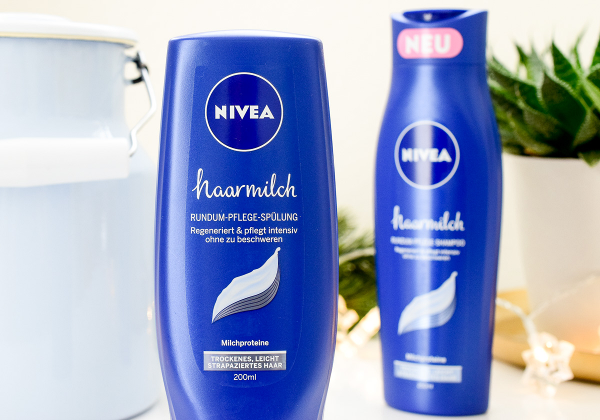 nivea haarmilch rundum pflege shampoo sp lung rundumgl cklich. Black Bedroom Furniture Sets. Home Design Ideas