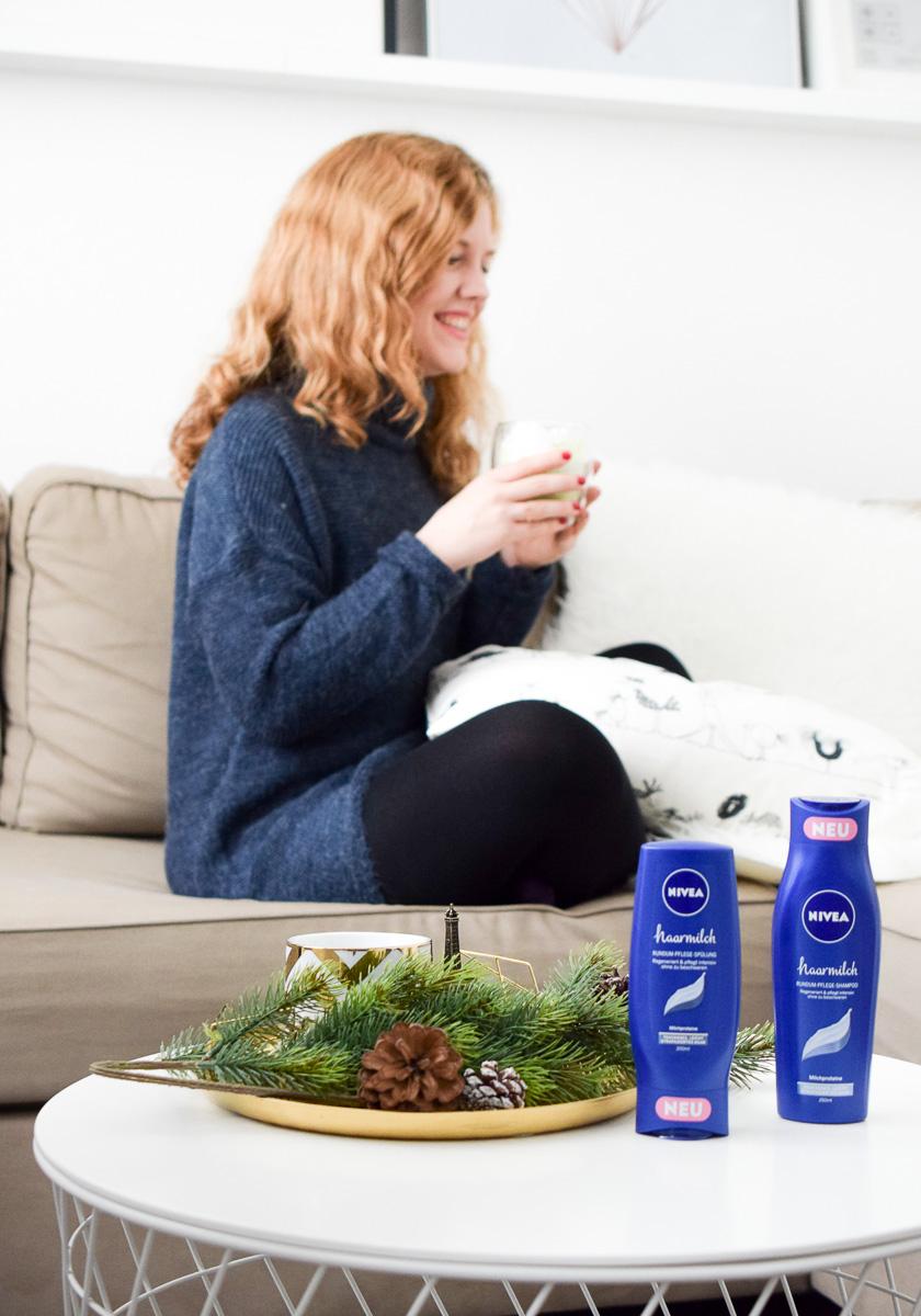 nivea haarmilch rundum pflege shampoo sp lung rundumgl cklich. Black Bedroom Furniture Sets. Home Design Ideas