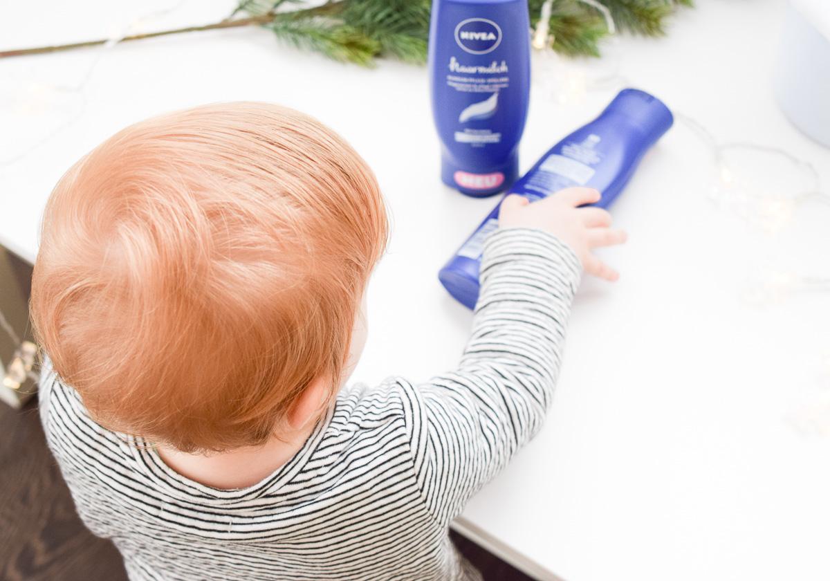 Meine Tochter macht mich glücklich Mama-Bloggerin Karlsruhe Nivea Haarmilch Rundum-Pflege