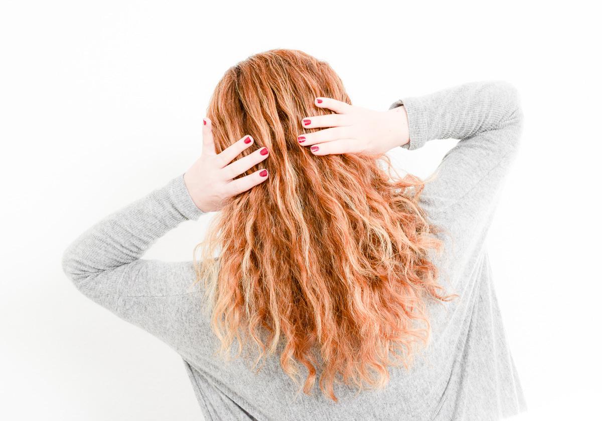 Was tun an Bad Hair Days fünf Tipps für schöne lange lockige Haare